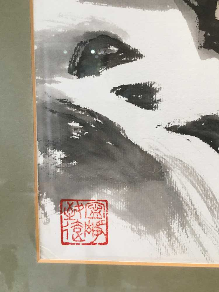 CHEN YANNING (CHINESE 1945-) ROARING TIGER - Image 10 of 12