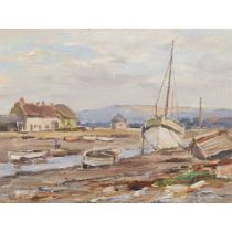 OWEN BOWEN (BRITISH 1873-1967) PORLOCK WEIR