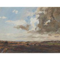 A HAMILTON SCOTT (SCOTTISH 1876-1944) VIEW FROM GLENIFFER