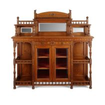 BRUCE TALBERT (1838-1881) (ATTRIBUTED DESIGNER) GOTHIC REVIVAL DRAWING ROOM CABINET, CIRCA 1870
