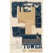 EDWARD MCKNIGHT KAUFFER (1890- 1954) THE TOWER OF LONDON