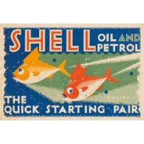 CHARLES PAINE (1895-1967) SHELL, THE QUICK STARTING PAIR