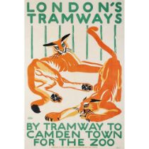MARY I WRIGHT BY TRAMWAY TO CAMDEN TOWN FOR THE ZOO