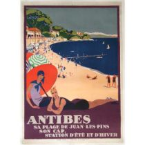 ROGER BRODERS (1883-1953) ANTIBES