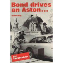 ANONYMOUS BOND DRIVES AN ASTON...NATURALLY