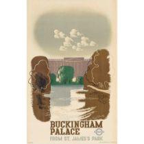 EDWARD MCKNIGHT KAUFFER (1890- 1954) BUCKINGHAM PALACE