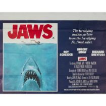 VARIOUS COLLECTION OF SEVEN UK QUADS INCLUDING JAWS AND THE GODFATHER