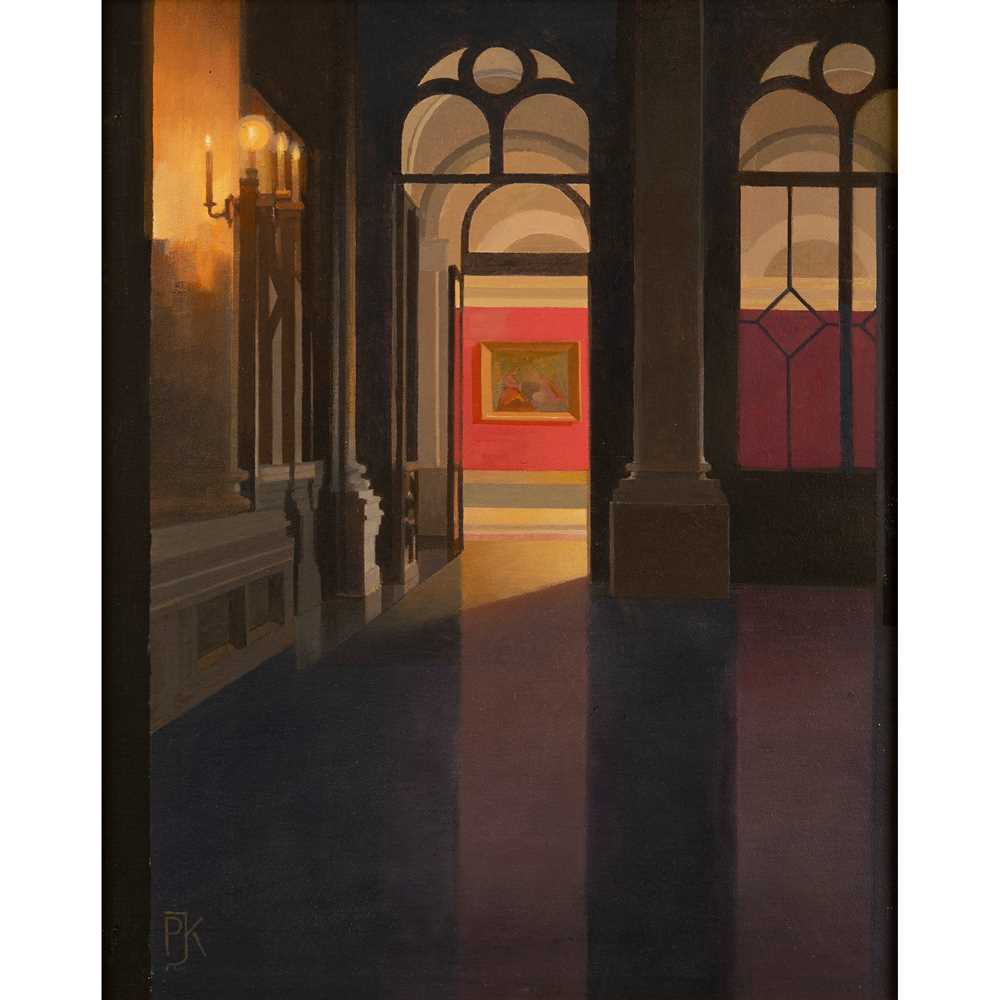 Peter Kelly N.E.A.C. R.B.A. (British 1931-2019) Entrance to the Red Room, Yusupov Palace, St. Peter