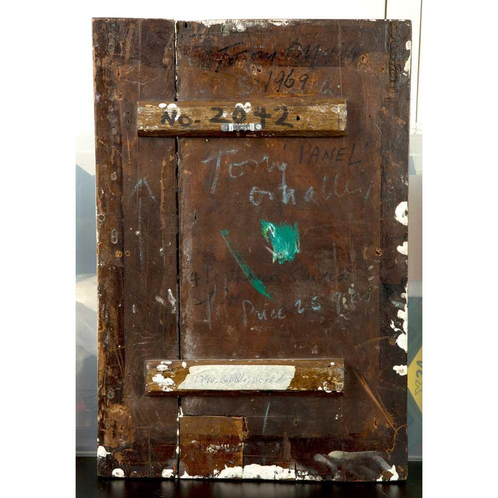 Tony O'Malley (Irish 1913-2003) 'Panel', 1969 - Image 2 of 2