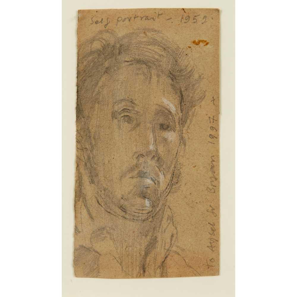 Bryan Ingham (British 1936-1997) Self Portrait, 1959