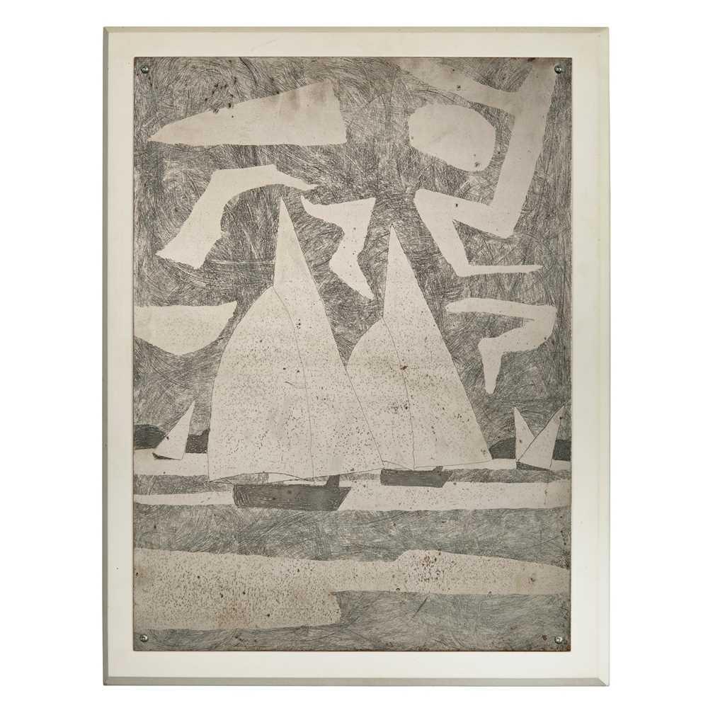 Julian Trevelyan (British 1910-1988) Spinnakers, 1971