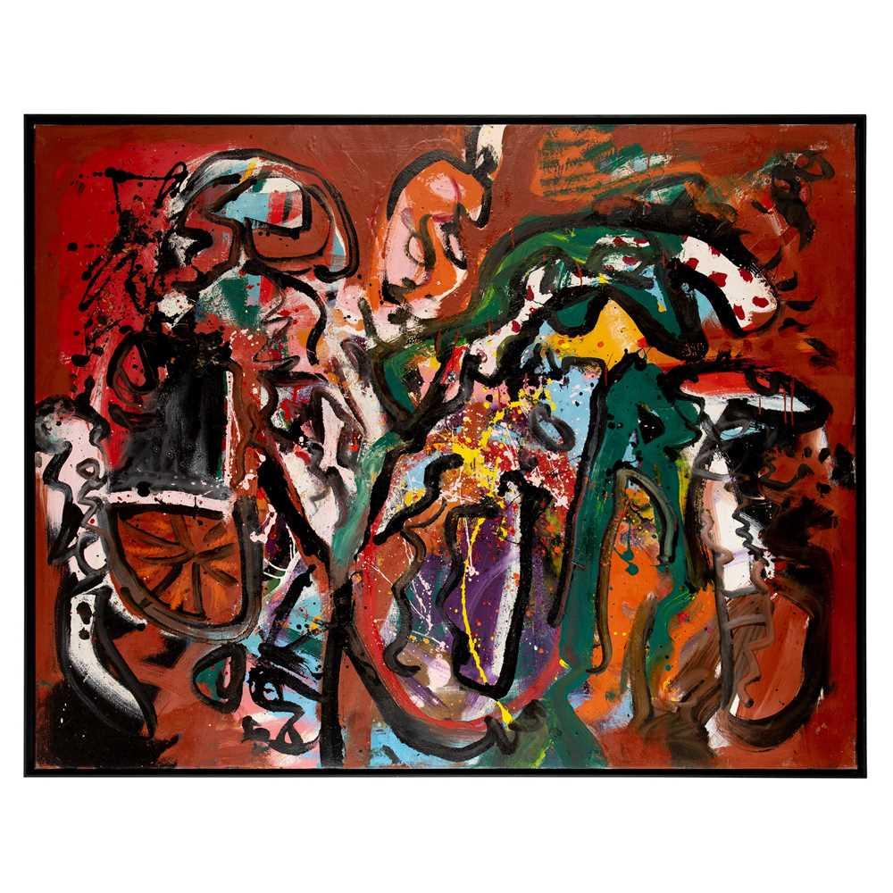 Alan Davie C.B.E., R.A., H.R.S.A. (British 1920-2014) Bashful Dragon, Opus O.556B, 1964