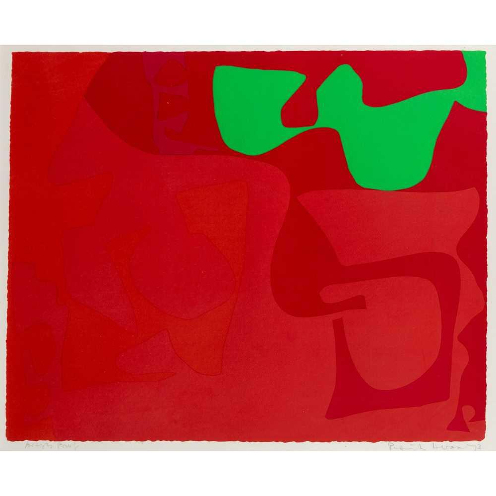 Patrick Heron C.B.E. (British 1920-1999) Small Red : January 1973 : 2