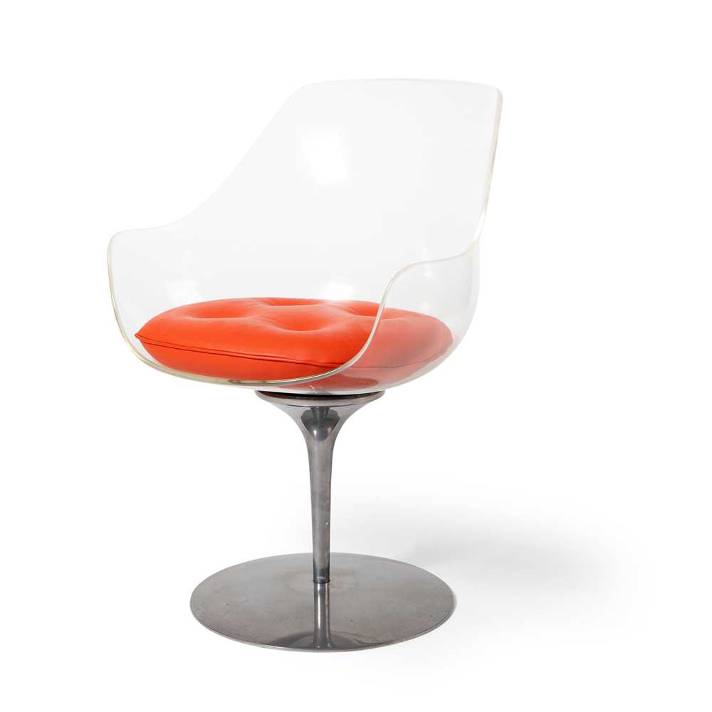 Erwine and Estelle Laverne (American 1909-2002 and 1915-1997) for Formes Nouvelles 'Champagne' Chair
