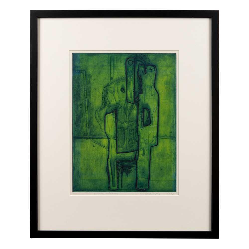 Robert Clatworthy (British 1928-2015) Figure in Room, 1954 - Image 2 of 3