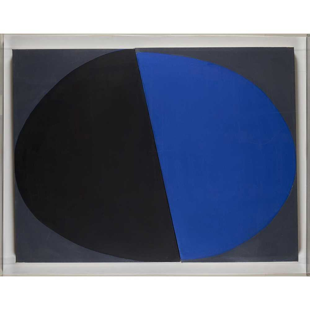 Sir Terry Frost R.A. (British 1915-2003) Blue and Black, December 1968 - Image 2 of 10