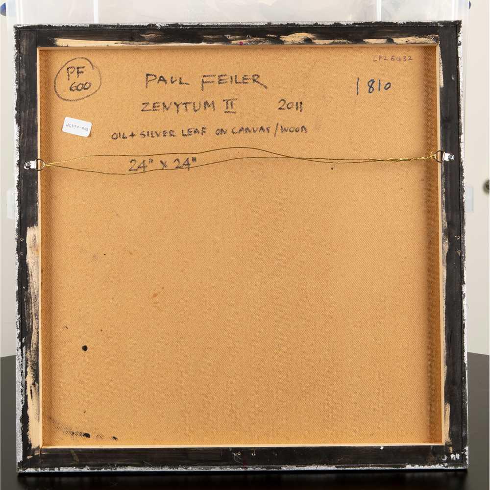Paul Feiler (British 1918-2013) Zenytum II, 2011 - Image 2 of 2