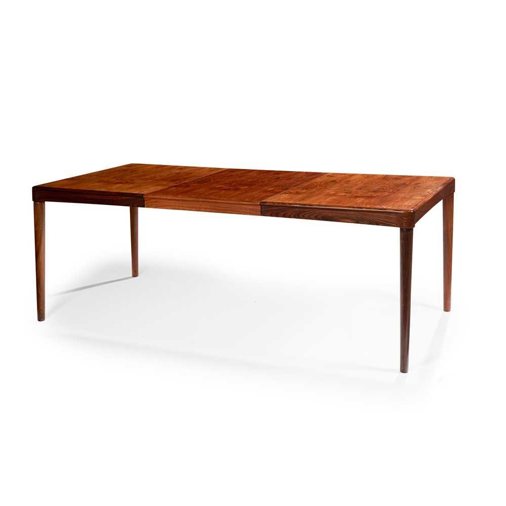 Kai Lyngfeldt Larsen (Danish 1920-2001) for Vejen Dining Table and Set of Six Chairs