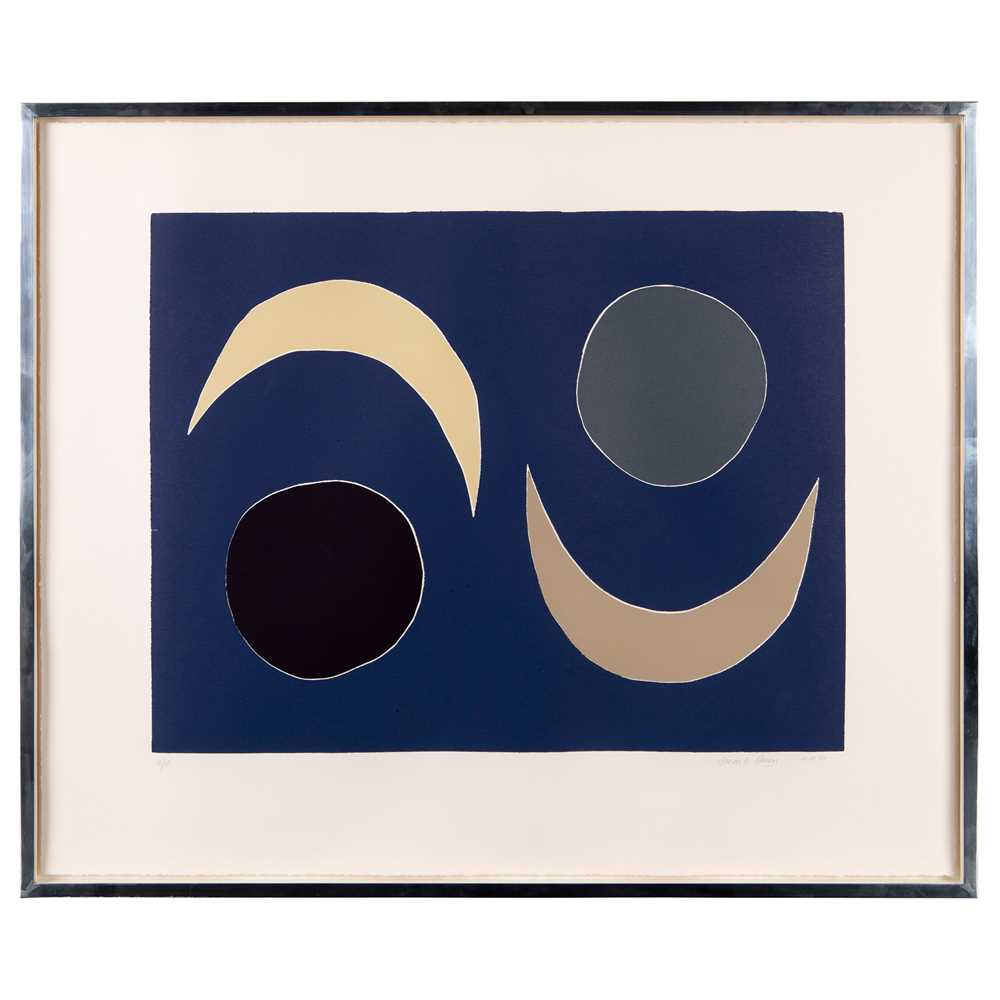 Breon O'Casey (British 1928-2011) Blue Moons, 2003 - Image 2 of 3