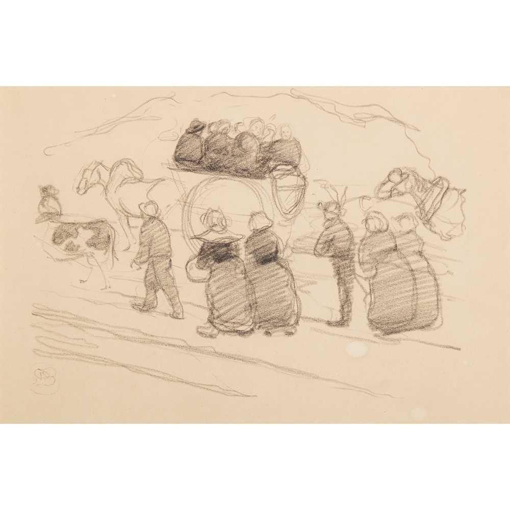 Robert Polhill Bevan (British 1865-1925) Breton Peasants
