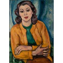 Edward Wolfe R.A. (South African/British 1897-1982) Portrait of Diana Greer