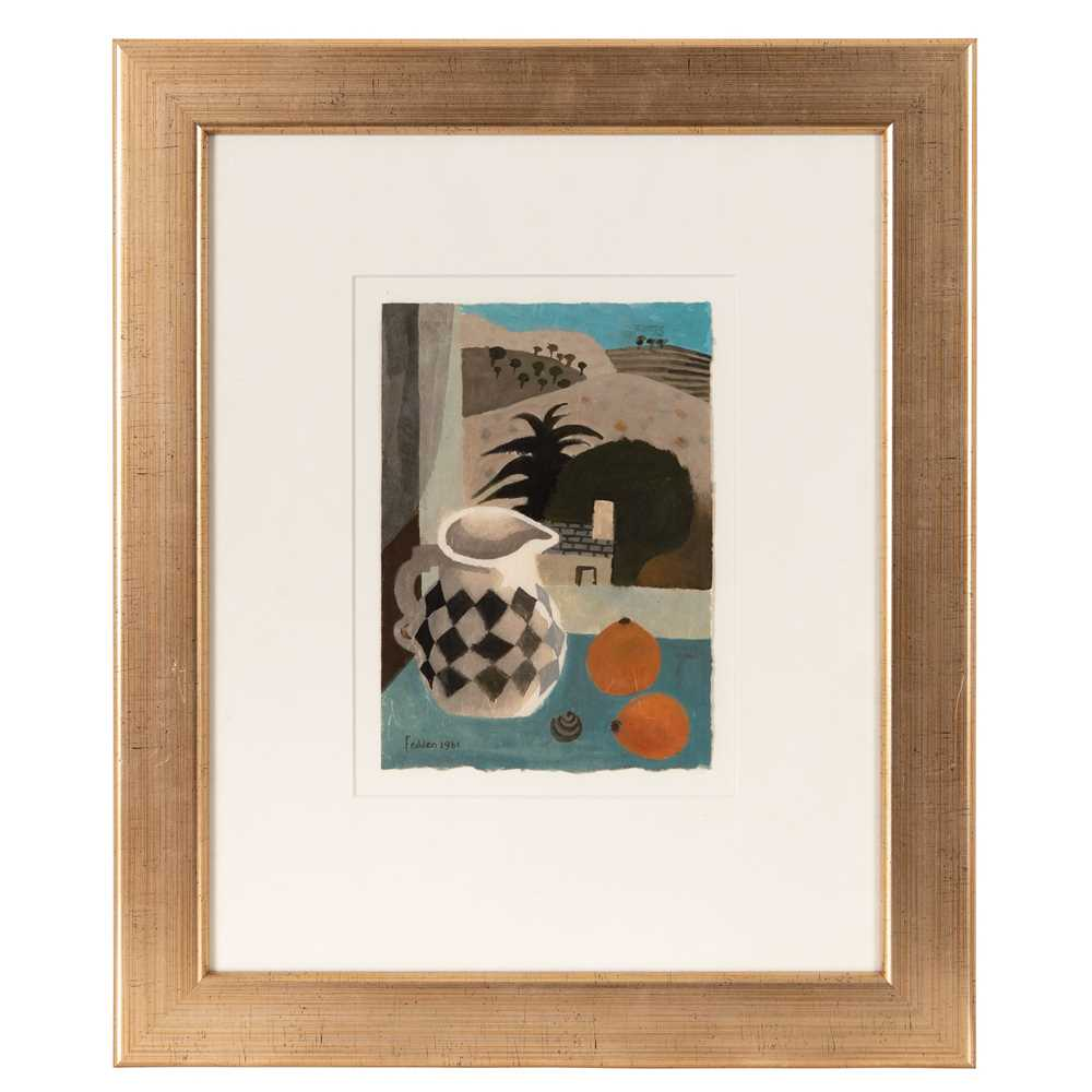 Mary Fedden O.B.E., R.A., R.W.A. (British 1915-2012) Jug and Oranges, 1981 - Image 2 of 3