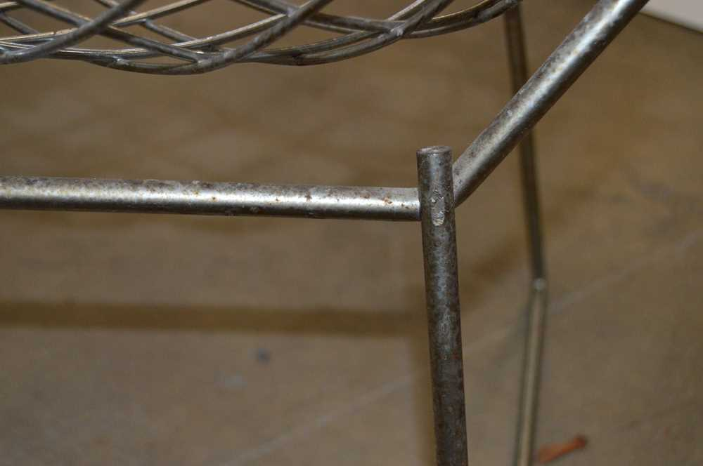 Harry Bertoia (American 1915-1978) Set of Four Diamond Chairs - Image 10 of 13