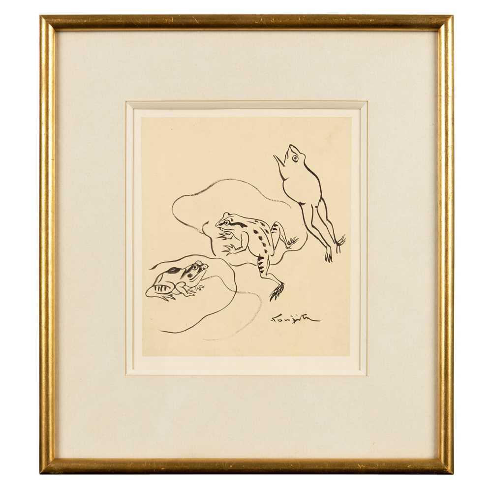 Tsuguharu Foujita (French / Japanese 1886-1968) Frogs - Image 2 of 3
