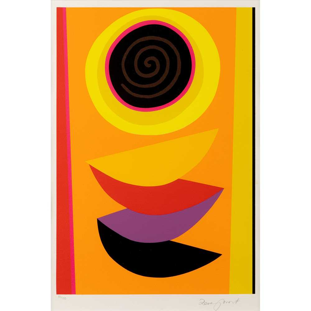 Sir Terry Frost R.A. (British 1915-2003) Spiral for Sun, 2001 (Kemp 217)