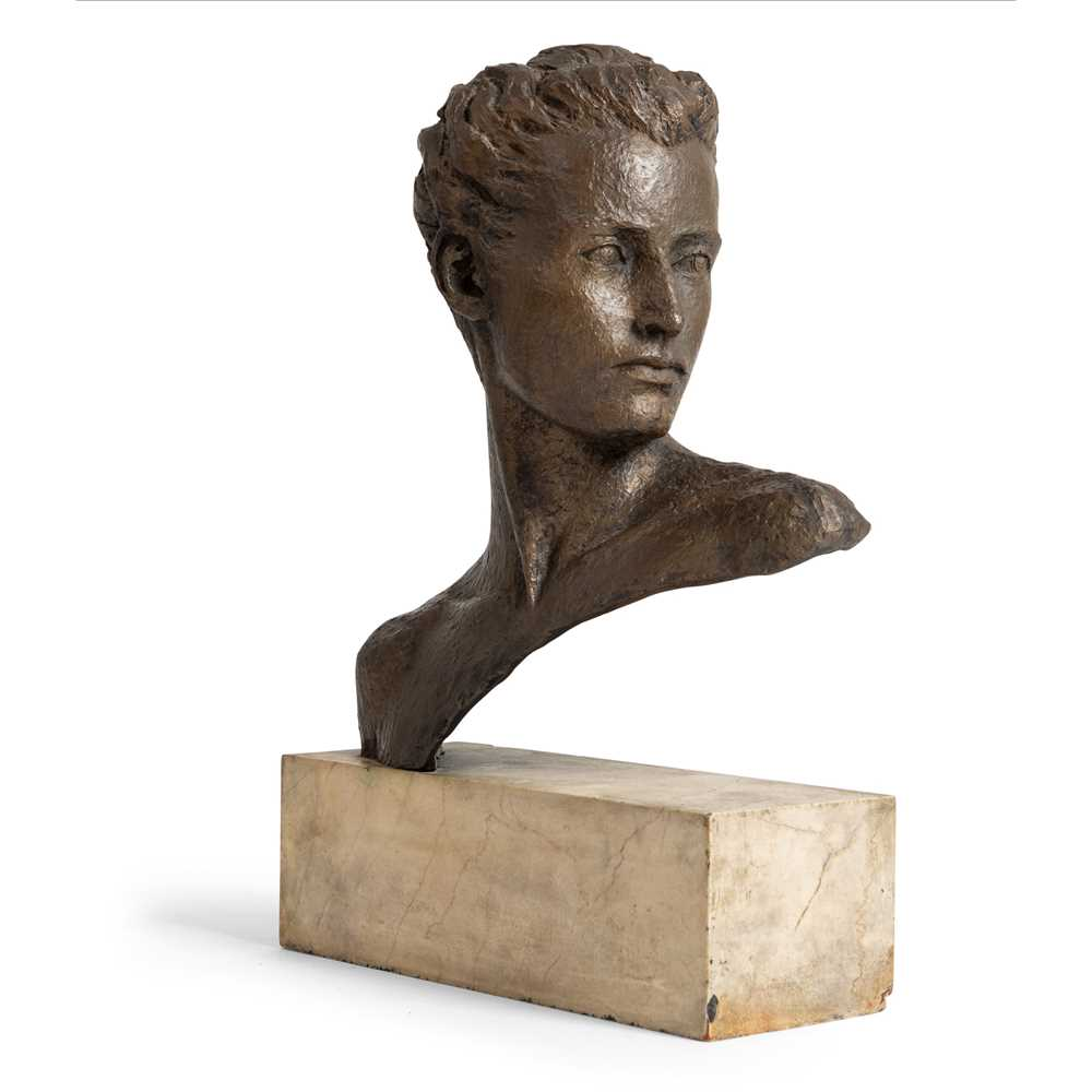 Grizel Niven (British 1906-2007) Bust of a head