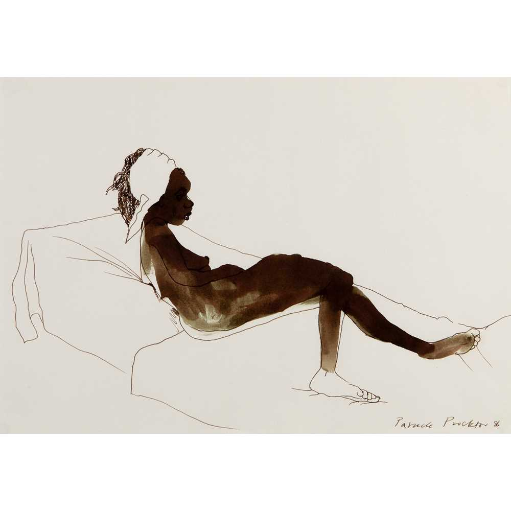 Patrick Proctor (British 1936-2003) Nude Reclining, 1986