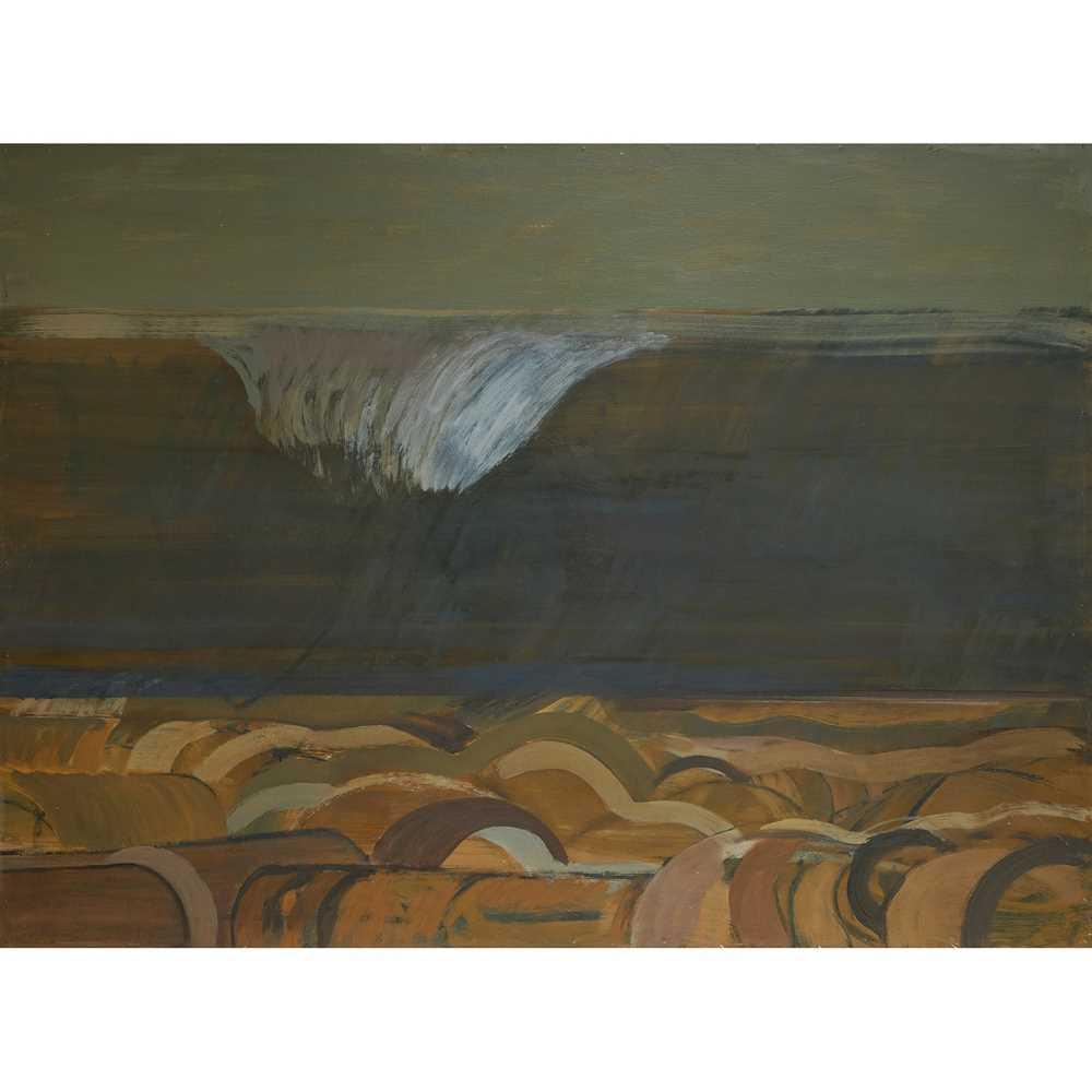Karl Weschke (German 1925-2005) The Wave, 1974