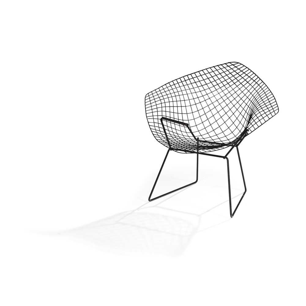 Harry Bertoia (American 1915-1978) Set of Four Diamond Chairs