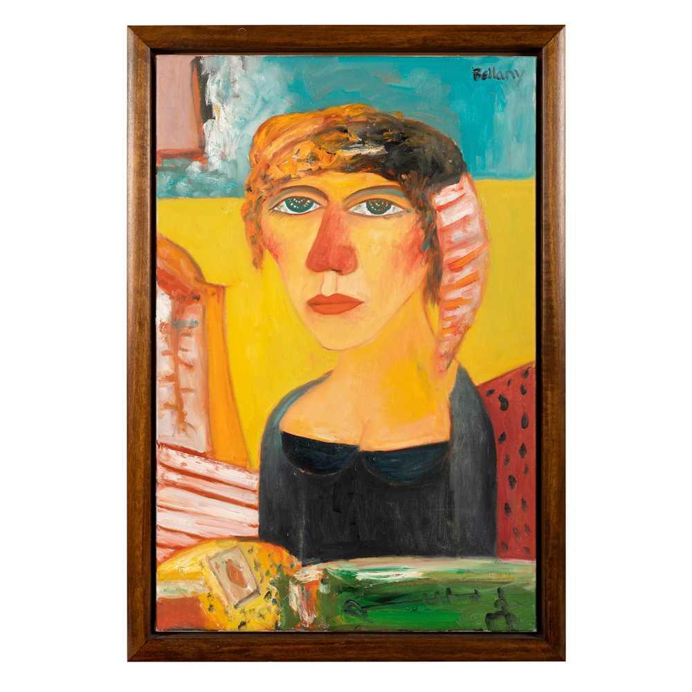 John Bellany C.B.E., R.A. (Scottish 1942-2013) Portrait of a Lady - Image 2 of 3