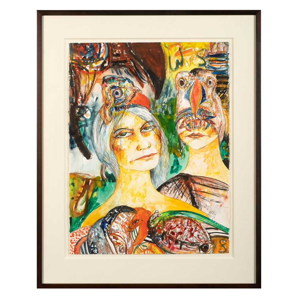 John Bellany C.B.E., R.A. (Scottish 1942-2013) Two Wives - Image 2 of 3