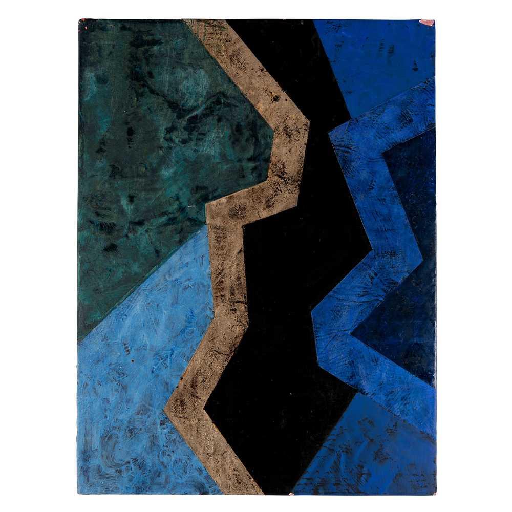 Gordon Hart (American 1940-) Black and Blue, 1982