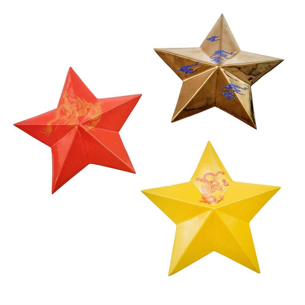 Li Lihong (Chinese 1974-) 3 Stars: Red Star, Yellow Star and Gold Star, 2007