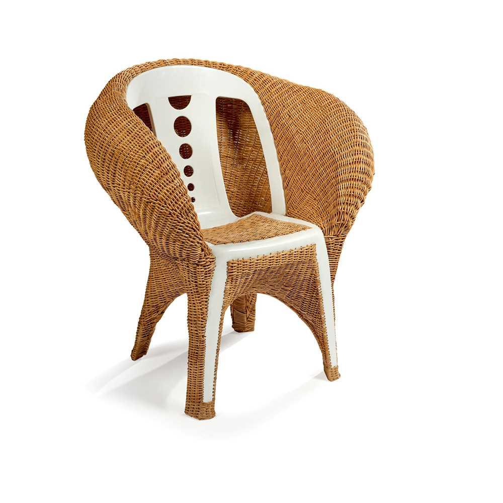 Fernando and Humberto Campana (Brazilian 1961- and 1953-) Transplastic Chair, designed 2006 - Image 2 of 2