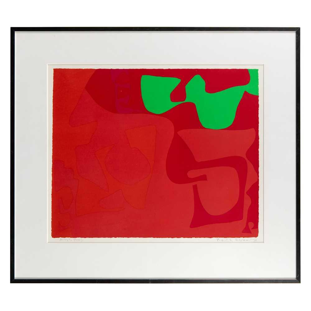 Patrick Heron C.B.E. (British 1920-1999) Small Red : January 1973 : 2 - Image 2 of 3