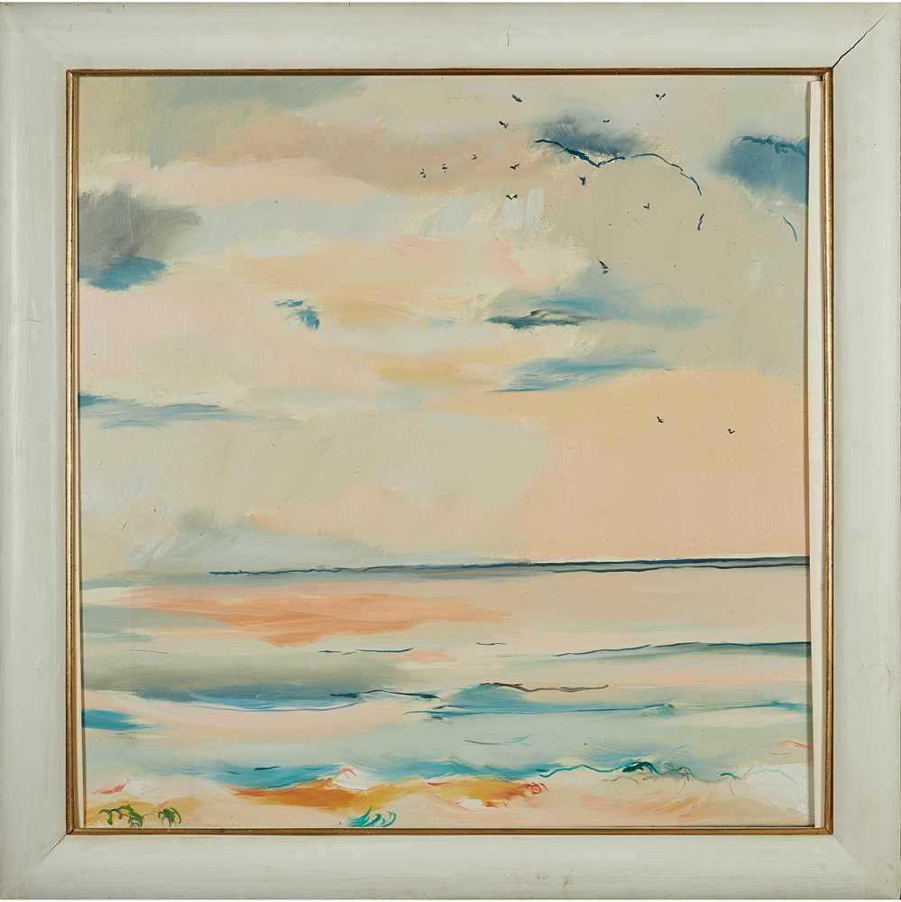 Philip Sutton R.A. (British 1928-) The Sea at Aldeburgh, 1980 - Image 2 of 2