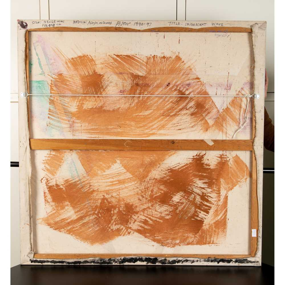 Sandra Blow R.A. (British 1925-2006) Iridescent Wave, 1990 - Image 2 of 2