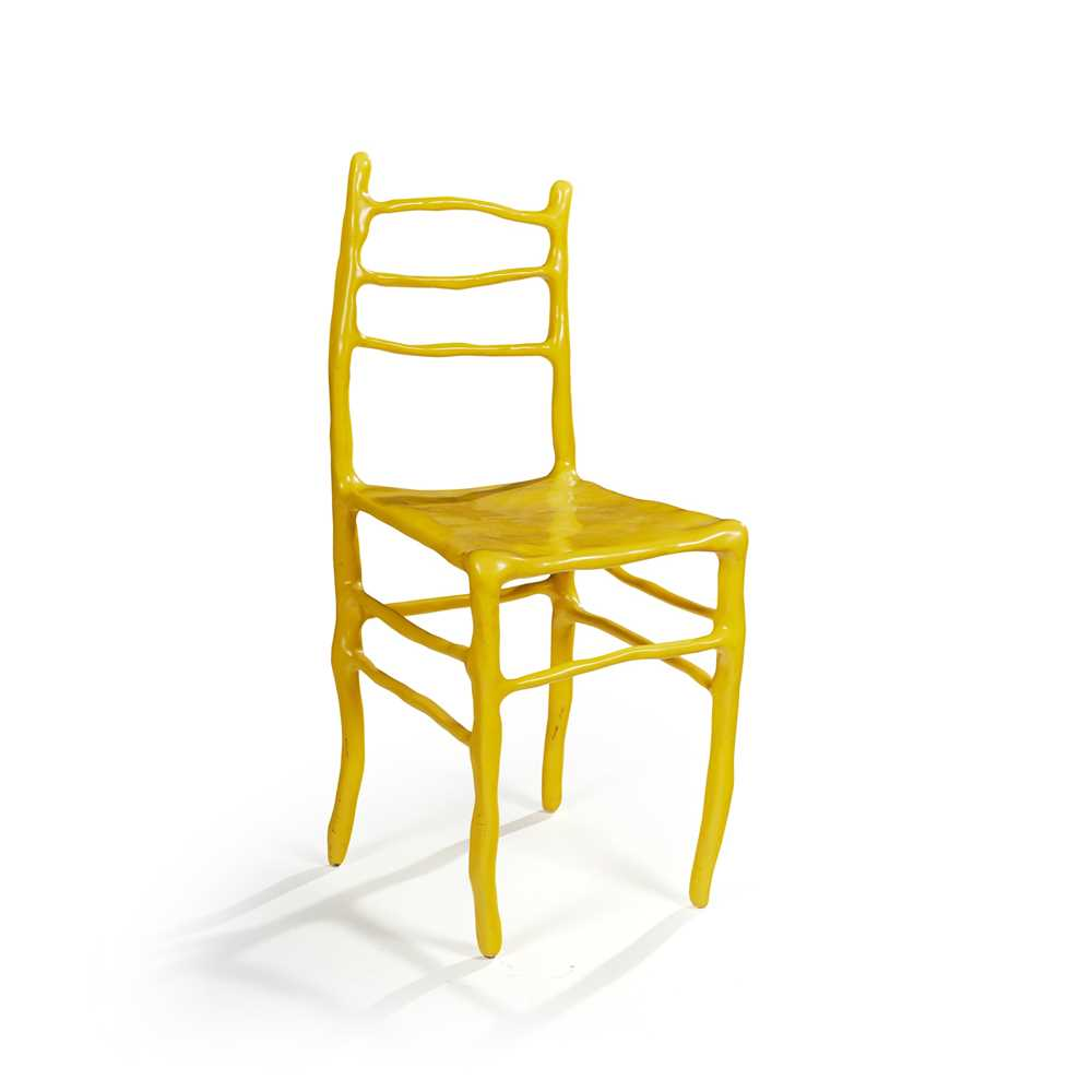 Maarten Baas (Dutch 1973-) 'Clay' Basel Chair, designed 2007