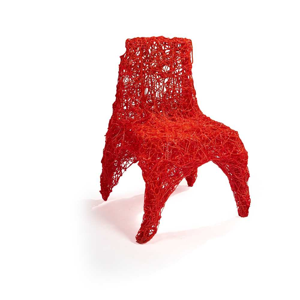 Tom Dixon (British 1959-) Extruded Chair, designed 2007