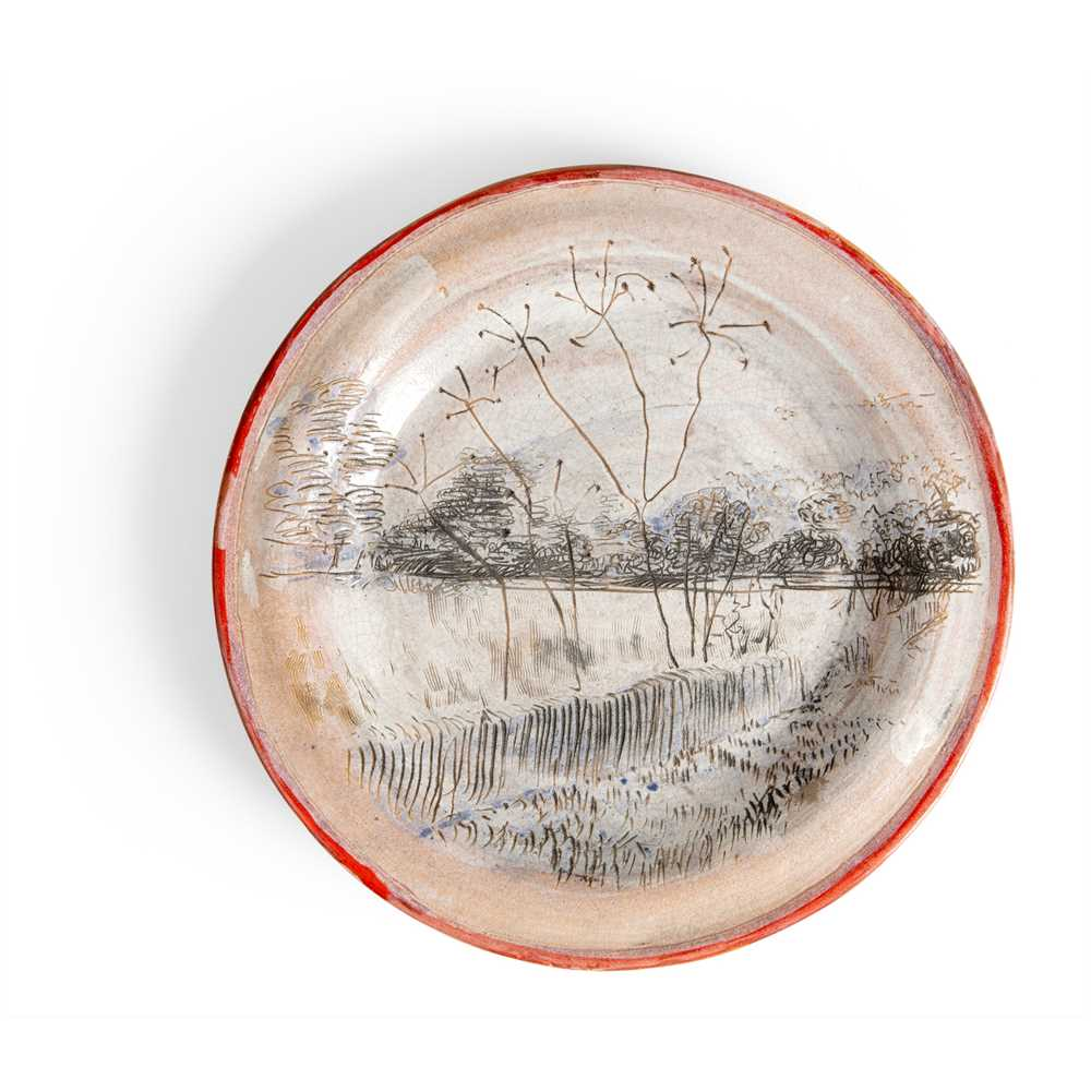 Quentin Bell (British 1910-1996) for Fulham Pottery Plate