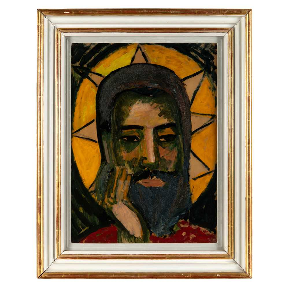 Edward Wolfe R.A. (South African/British 1897-1982) Head of Christ - Image 2 of 3
