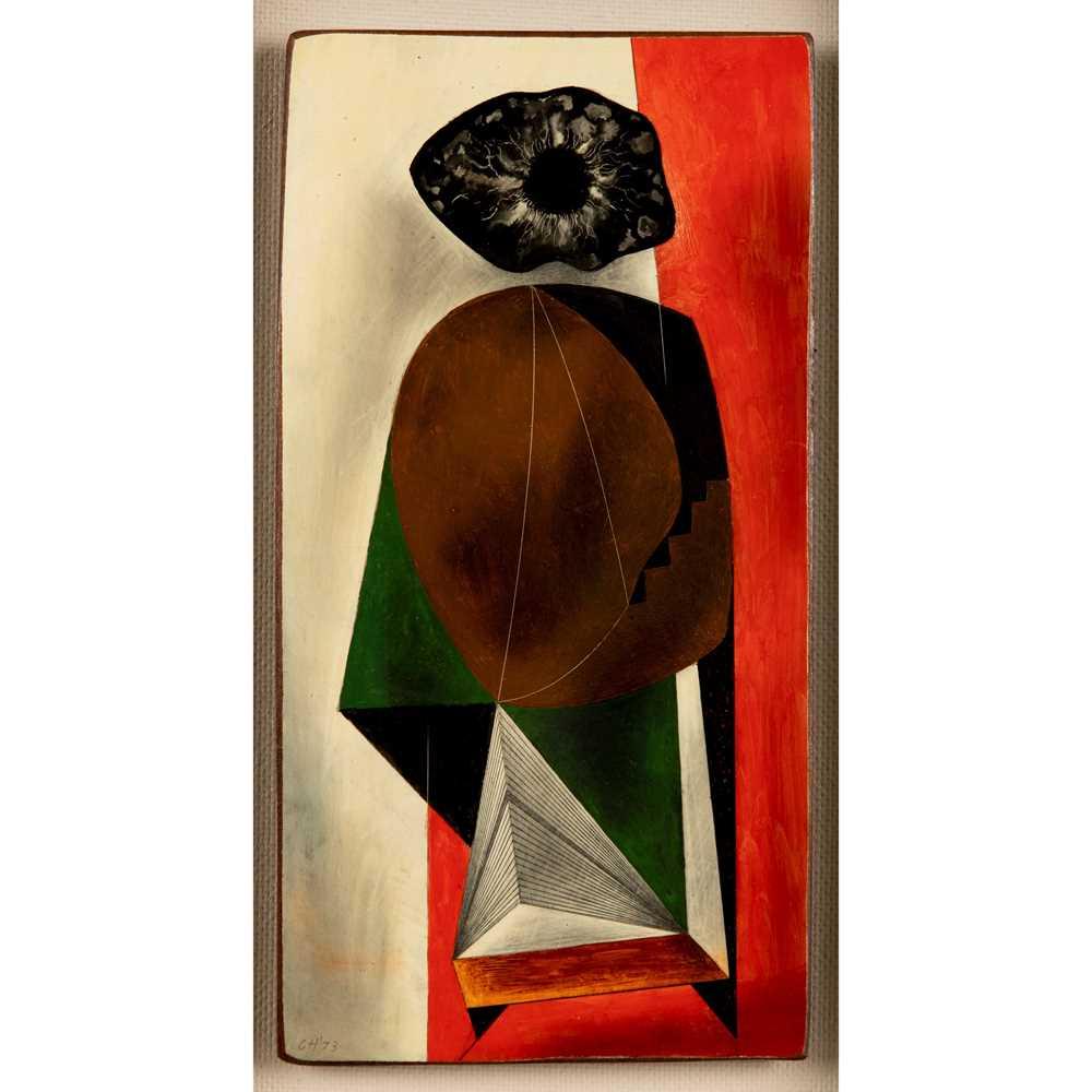 Clarke Hutton (British 1898-1984) Anthropomorphic Figure, 1973