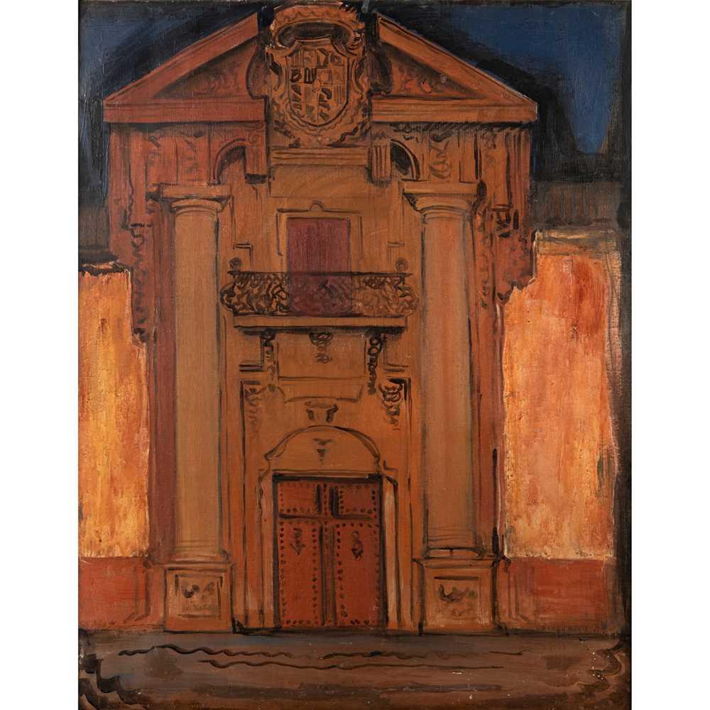 Ismael Gonzales de la Serna (Spanish 1898-1968) The Doorway, Venice, 1924