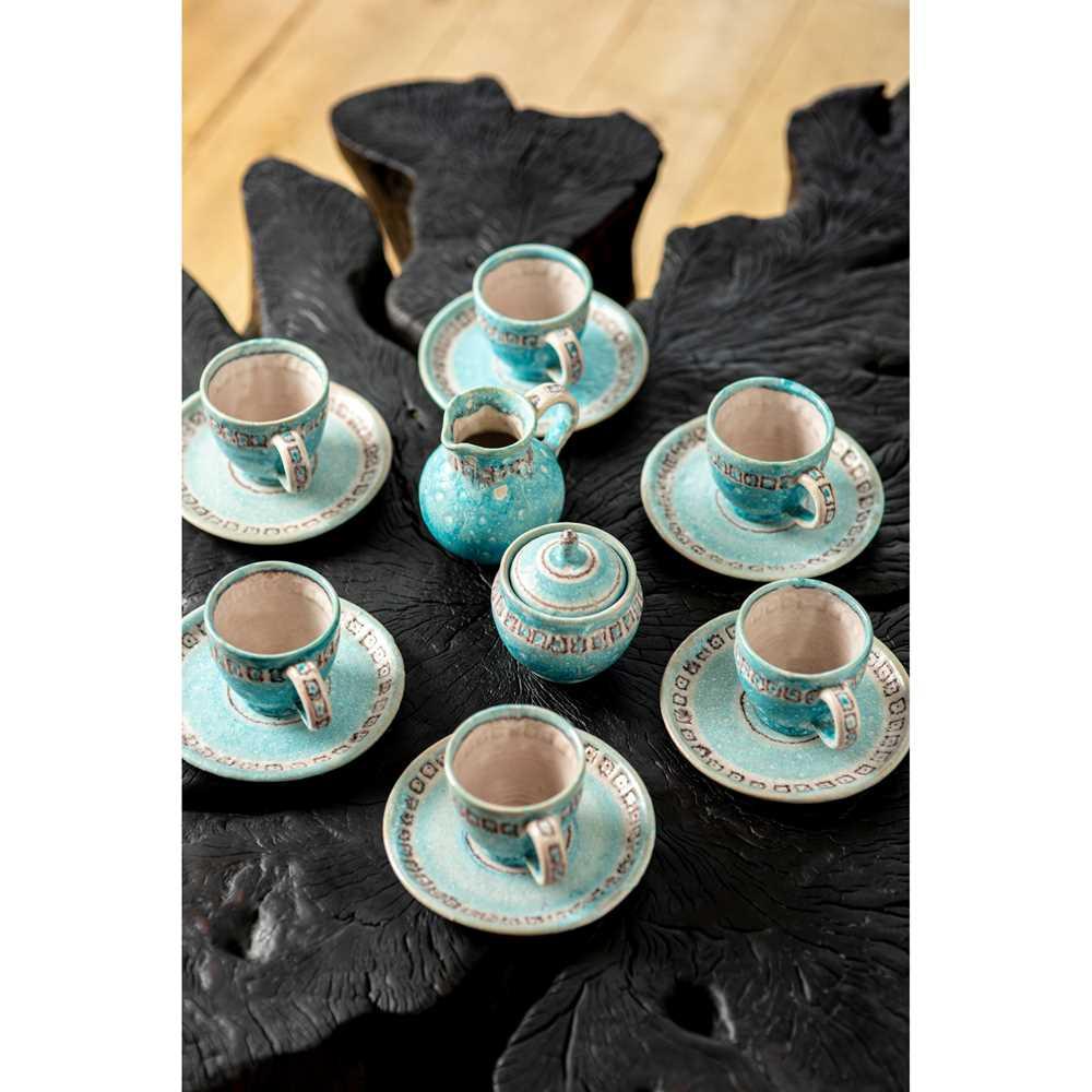 Guido Gambone (Italian 1909-1969) Tea / Coffee Set, 1950s - Image 2 of 2