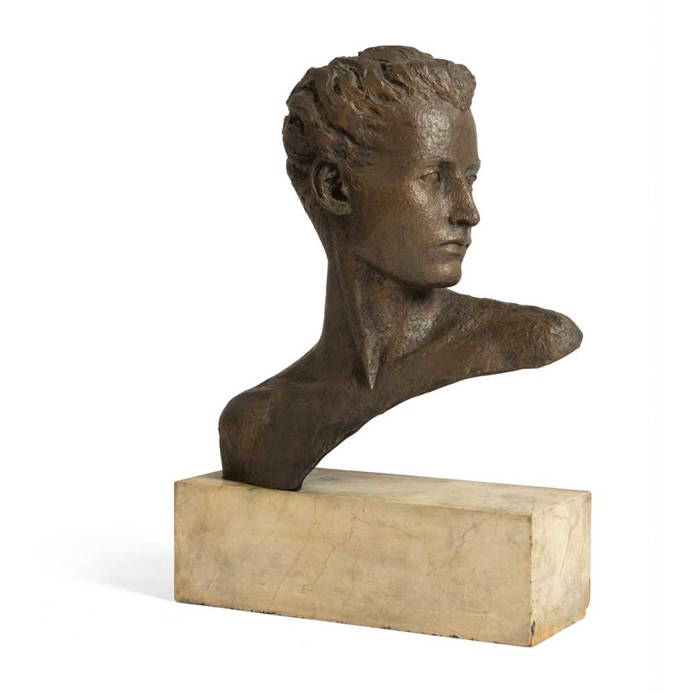 Grizel Niven (British 1906-2007) Bust of a head - Image 2 of 2
