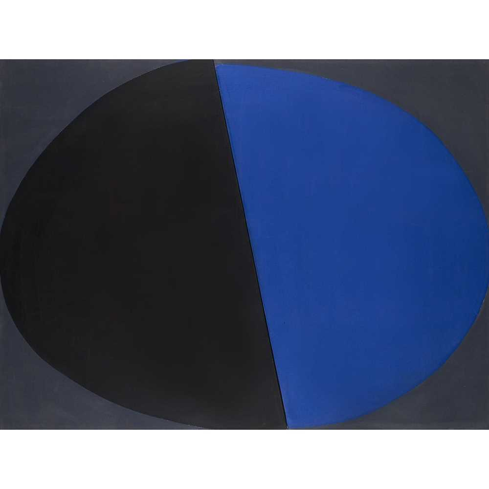 Sir Terry Frost R.A. (British 1915-2003) Blue and Black, December 1968